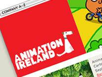 Animation Ireland logo design
