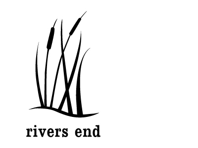 Logo design, identity design, branding, in Dublin, Ireland | rivers end logo